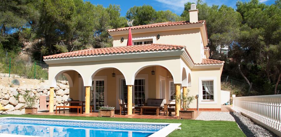 Villa de lujo en Sitges con el aire acondicionado controlado
