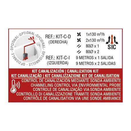KIT canalización dcho para CLARA, OLIVIA, CLEO y DORA