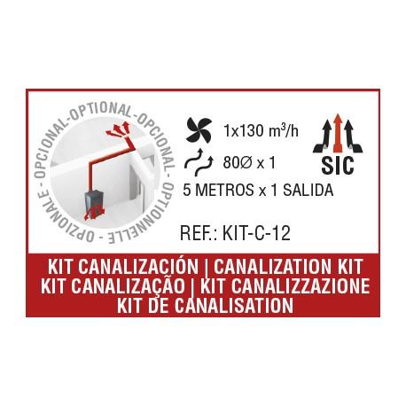 Kit C12 canalización